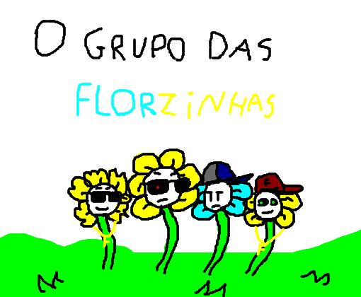o grupo das florzinhas desenho de flowey gartic