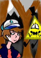 P/ Concurso do Bill_Cipher_Human_