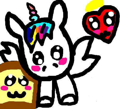 Unicornio Kawaii S2 Desenho De Vovozinha Gartic