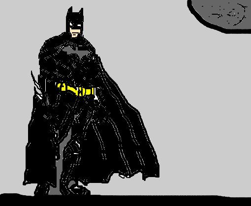 Batman Realista Meio Bosta Desenho De Bielzindosrock Gartic