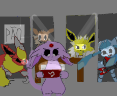 five nights at eevee's