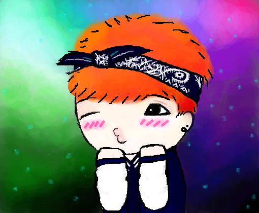 Yoongi *o* - Desenho de _ela_ - Gartic