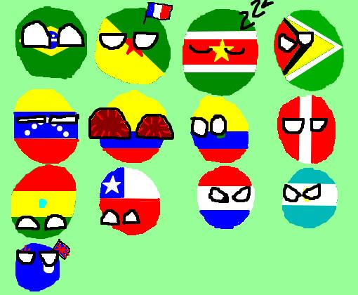 países da américa do sul remake desenho de horrorsans gartic