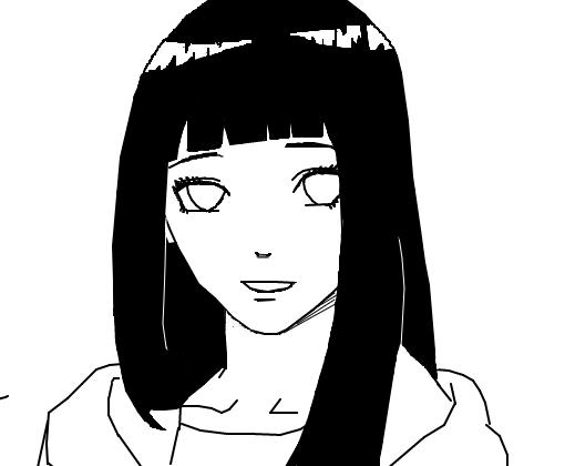 Hinata Hyuuga p/ Darkness_0 - Desenho de _ino_yamanaka_10 ...
