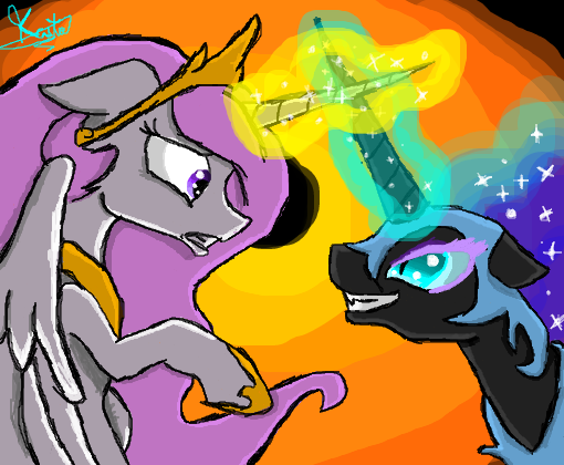 celestia vs nightmare moon