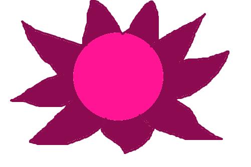 flor rosa feia desenho de kakazita gartic