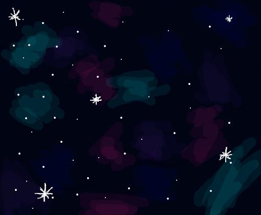 Galaxia Desenho De Natsukiddlc Gartic