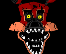 Nightmare Foxy [Level : Aterro sanitário.]