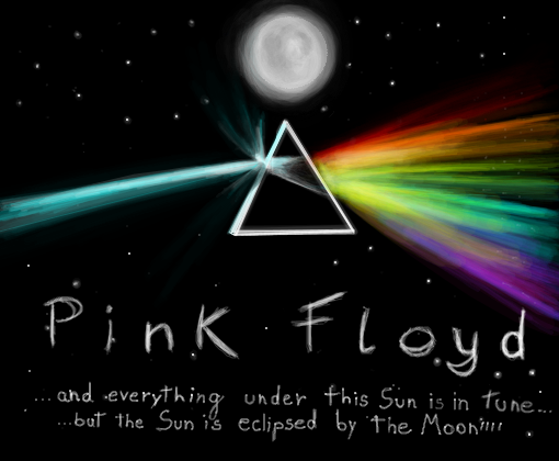 Eclipse desenho de pink floydiana gartic for Dark side of the moon mural