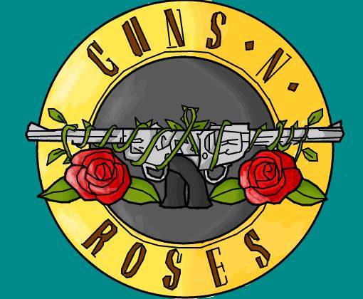 Guns N Roses Logo P/ Keke_Dogg