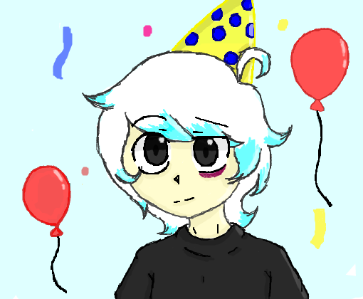 Happy  B-day, Cloudy!