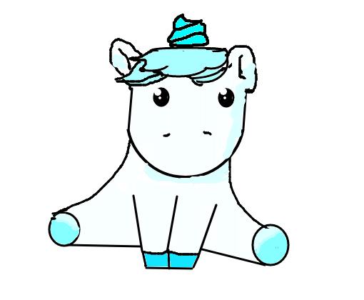 unicornio tumblr desenho de abcevelynxggg gartic