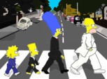 The Simpsons - Abbey Road