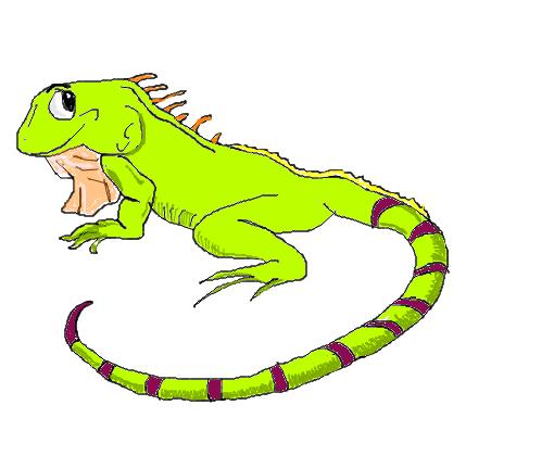camaleão desenho de adrh gartic