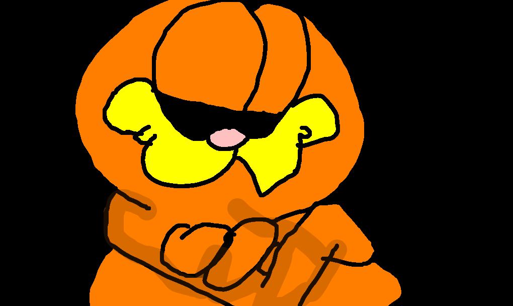 Garfield Desenho De Akiratoriyama Gartic