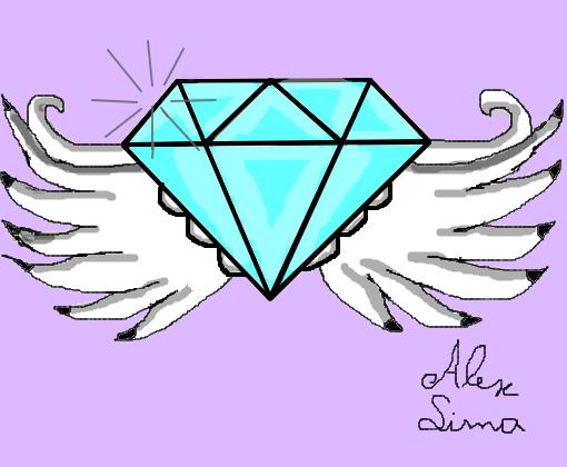 Diamante Com Asa Desenho De Alexlima1231 Gartic