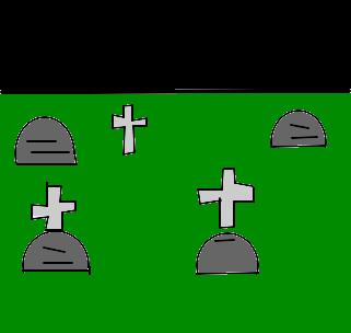 cemitério desenho de aline g1 gartic