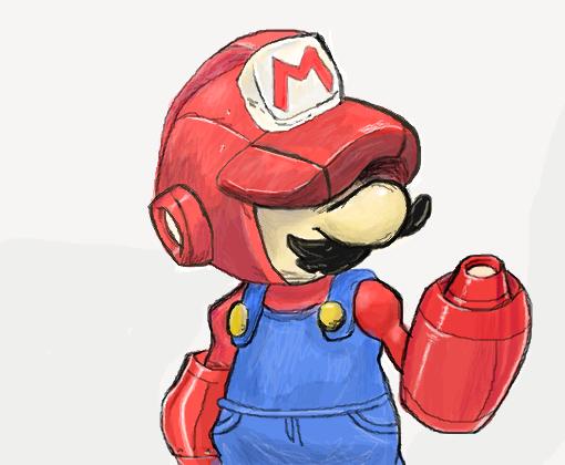 Super Mario Pixel
