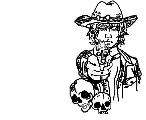 Carl The Walking Dead Desenho De Alisonl Gartic