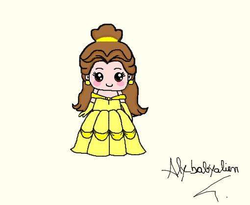 bela desenho de alybabyalien gartic