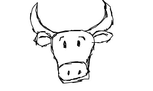 Resultado de imagem para boi desenho