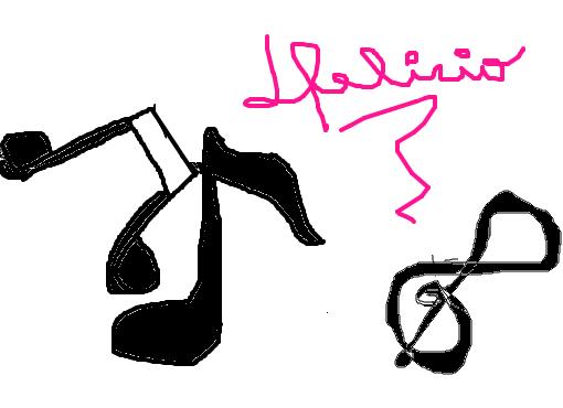Simbolos Da Musica Desenho De Aniinhadelicio Gartic