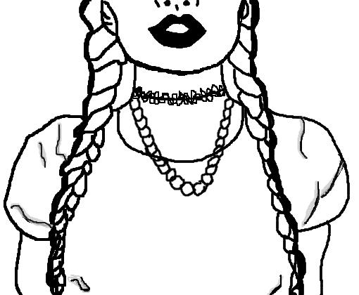 garota tumblr 7 desenho de aninhas2 kawaii gartic