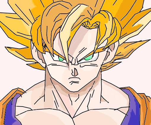Goku Ssj Desenho De Anonimo4764 Gartic