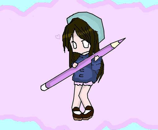 chibi kawaii - desenho de anychan