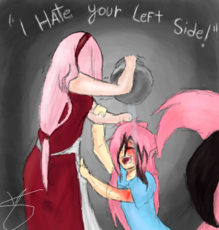 ''I Hate your Left side.''