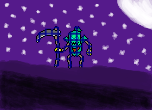 Fiddlesticks Pixelado