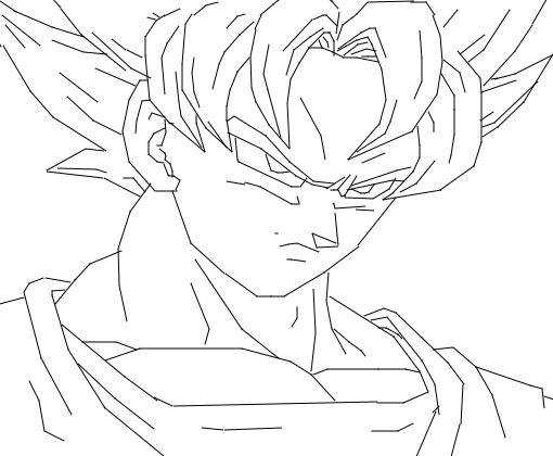 Desenhos Para Colorir Colorir Goku: Desenho De Augustomiranda