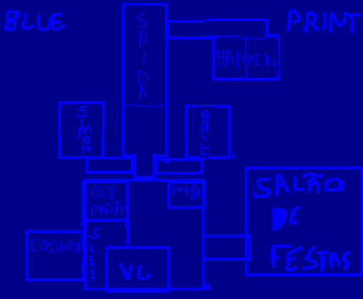 fnam´s 2 blueprint do mapa
