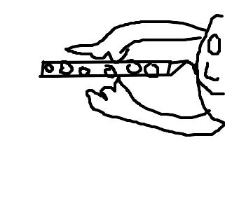 flauta desenho de badman gartic