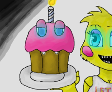 Cupcake and Toy Chica