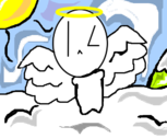 white the angel