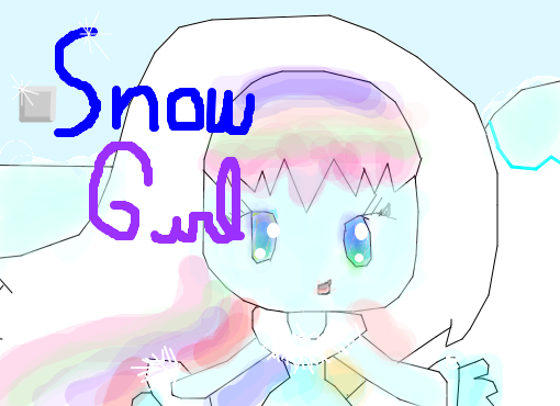 Snow girl (original)