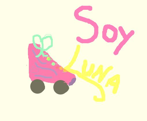 Patins Soy Luna Desenho De Belinha Coelho Gartic