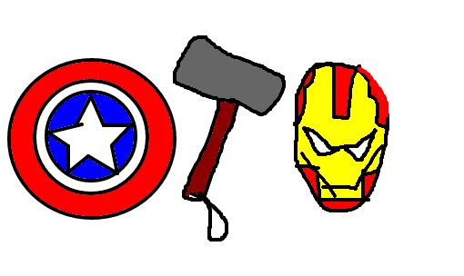 Os Vingadores Desenho De Belong Gartic