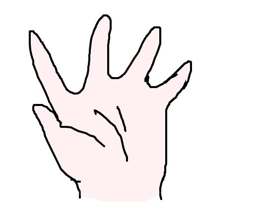 Desenhos Tumblr De Mão Estalando Como Fazer: Pra Quem Acha Que Não Sei Desenhar Mão P-p
