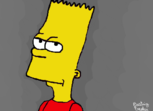 Old Bart Simpson