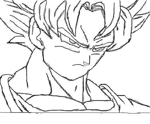 Desenhos Para Colorir Colorir Goku: Desenho De Biiladdeiru