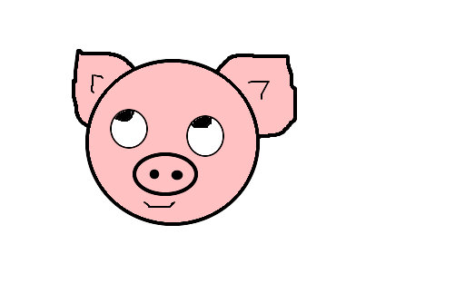 porquinho x3 desenho de bolo de pipoca gartic