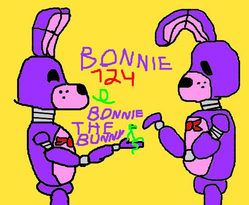 bonnie124 e BonnietheBunny - Desenho de bonnie124 - Gartic