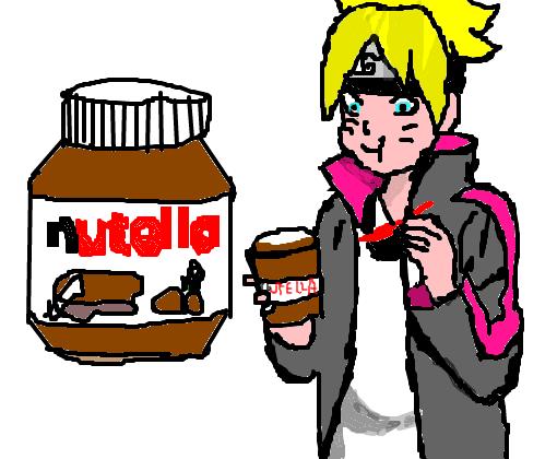 Eu Comendo Nutella E E Desenho De Boruto Uzumakl123 Gartic