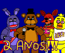 Parabéns Five Nights at Freddy's