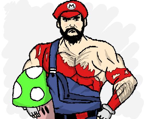 Super Mario Maromba Desenho De Brunnorp Gartic