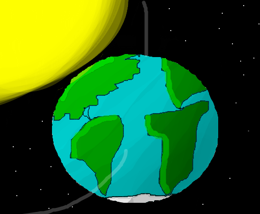 Planeta Terra - Desenho de bruno972 - Gartic