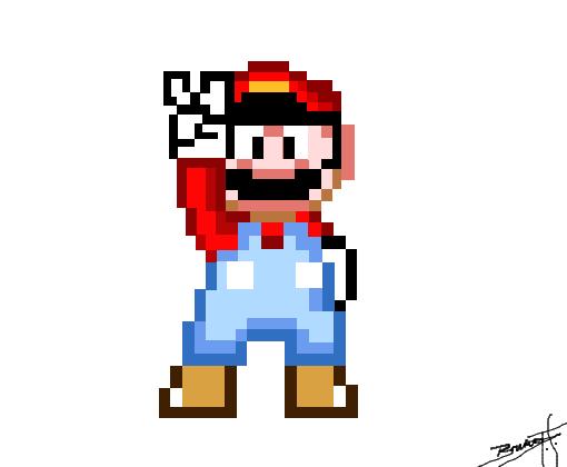 Super Mario Desenho De Brunofs007 Gartic