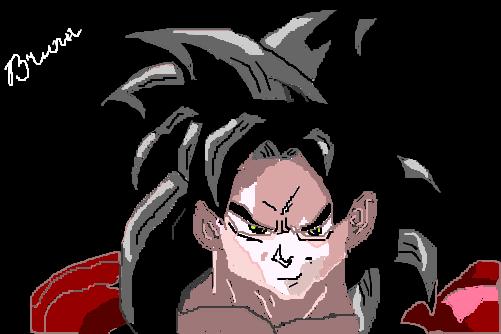 Goku Super Sayajin 4 P Luiz Armando Desenho De Buninha19 Gartic